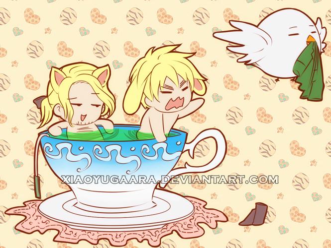 APH: I heard You like Tea by xiaoyugaara