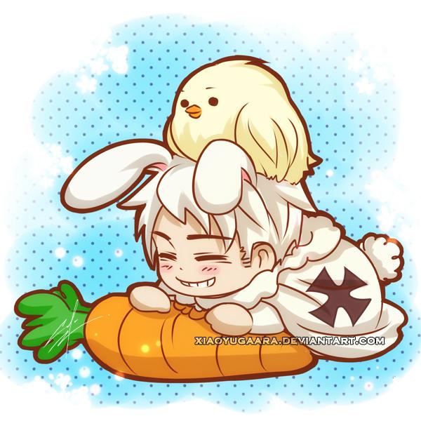 APH: Bunny Bun Bun by xiaoyugaara