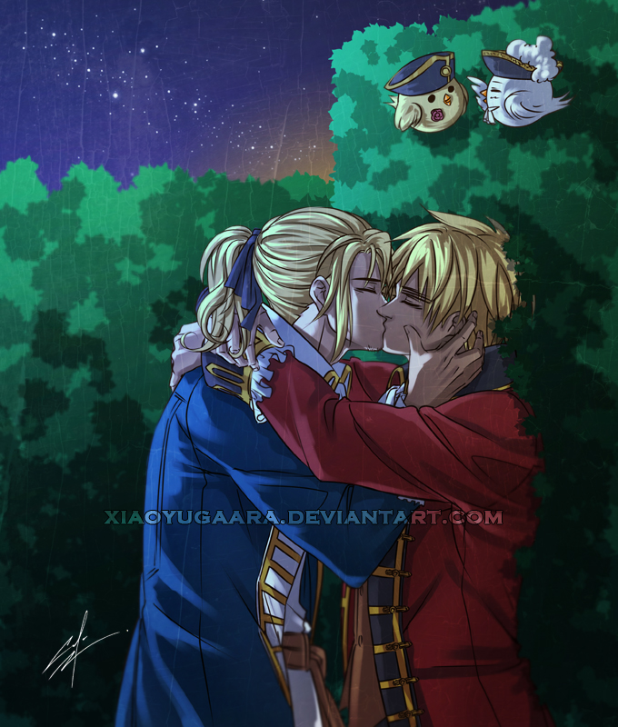 APH: Secret Love by xiaoyugaara