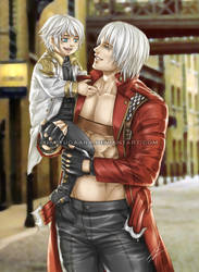DMC: with the Nephew by xiaoyugaara