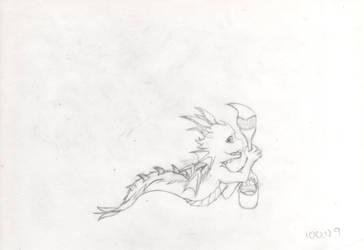 DragonART(Line)-100.11.08-Dragon by laysdra7265