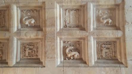 Chambord - Castle - Royal Symbols by HildaAlonso