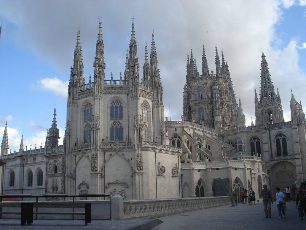 Burgos Cathedral by HildaAlonso