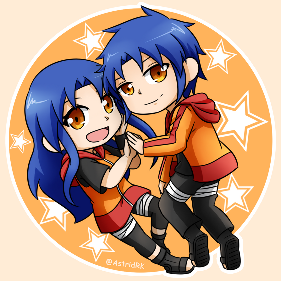 Koyuki and Koyuka by Astrid-RenjiKoyuki