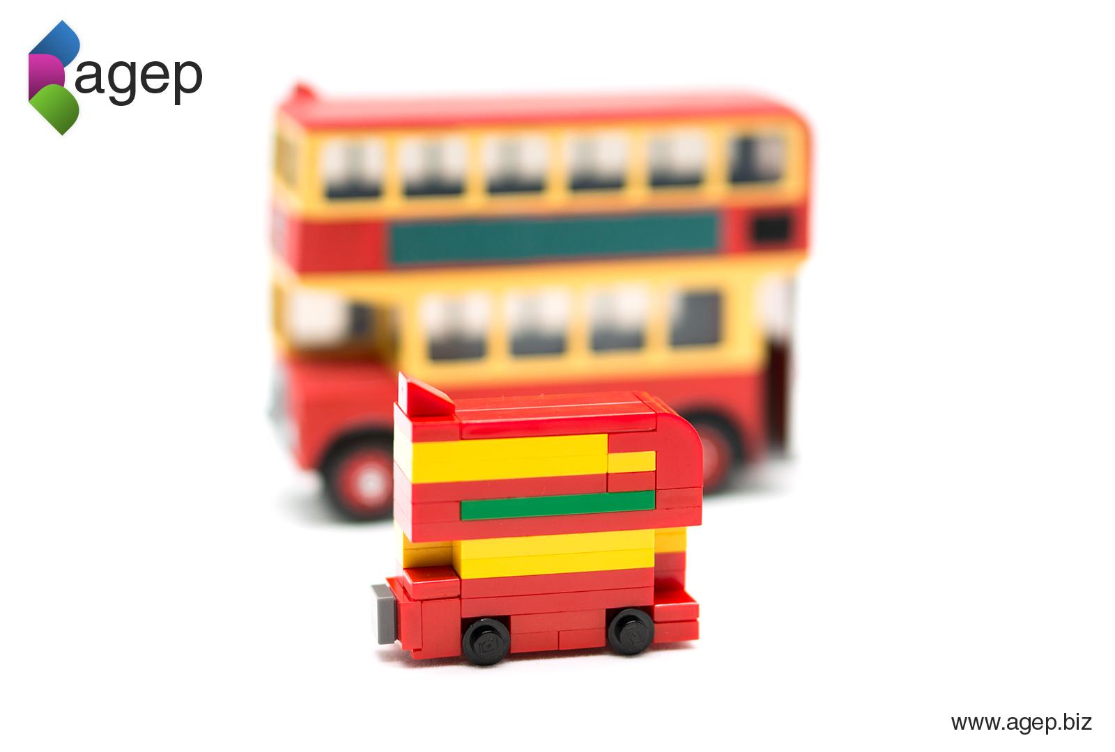 Lego Bulgy Microbuild - Thomas and Friends Fanart