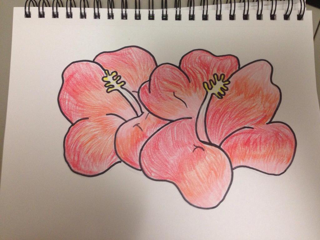Hawaiian Flowers by VinnieValentine00