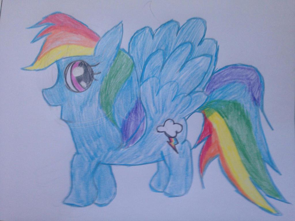 Rainbow Dash by VinnieValentine00