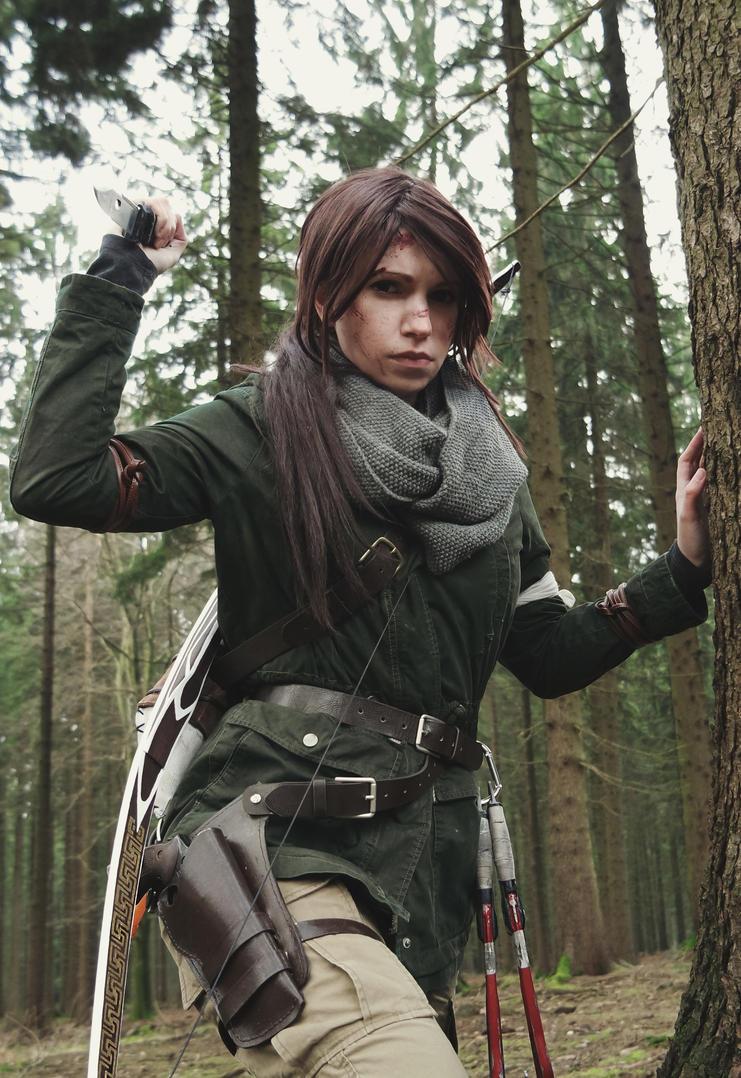 Rise of the Tomb Raider cosplay 3 by TsukichanCosplay
