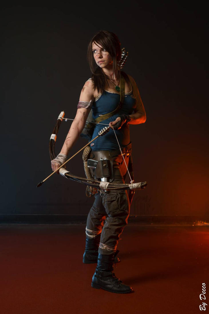 Tomb Raider 2013 cosplay 6 by TsukichanCosplay