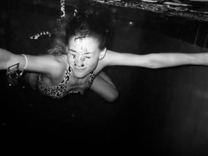 underwater tiger.