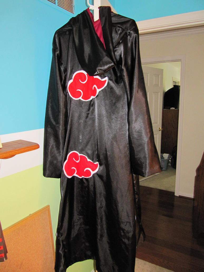 akatsuki cloak how to make