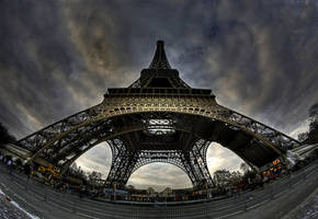 Eiffel Tower 2 by ArtSouilleurs