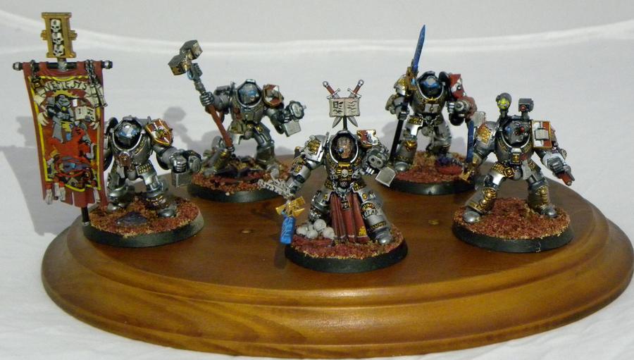 Grey Knight Paladins by SpearofSicarius