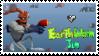 Earthworm Jim Stamp by RadRapo