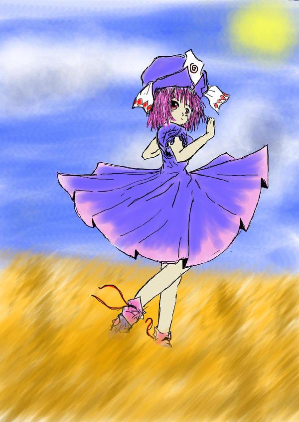 Yuyuko by Tonttu18