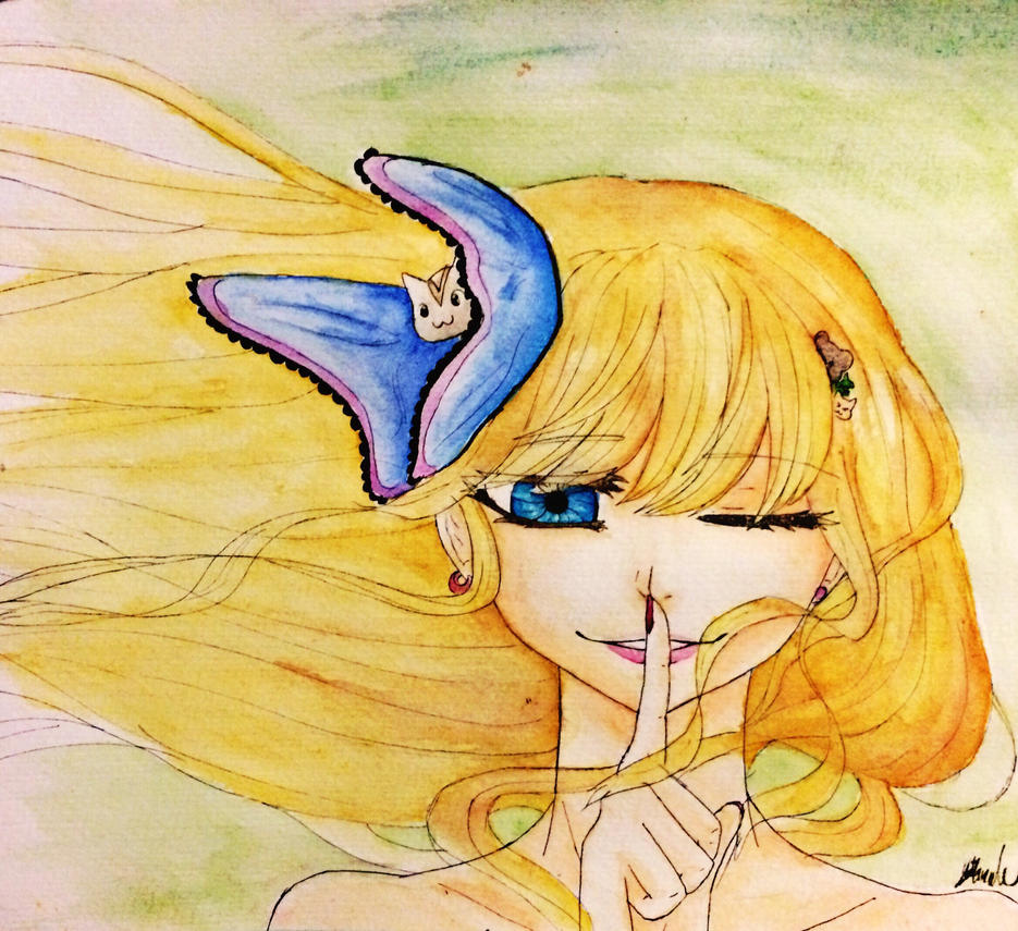 First complete watercolor painting by sunwhisperdraws on for My first watercolor painting