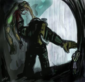 Bioshock fanart by Fenner