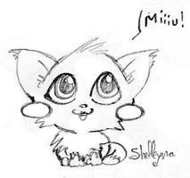 Little cat by Shelleyna