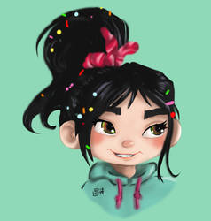 Vanellope by Shelleyna