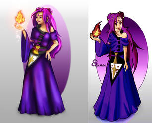 Draw this again : Akina the Witch by Shelleyna