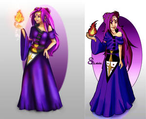 Draw this again : Akina the Witch