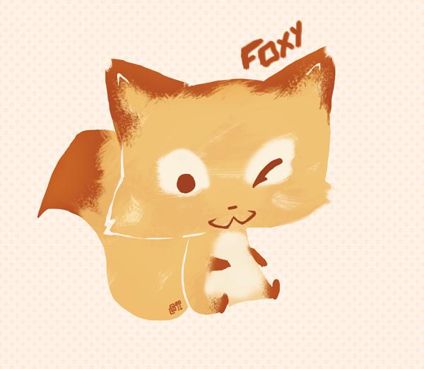 Little fox by Shelleyna