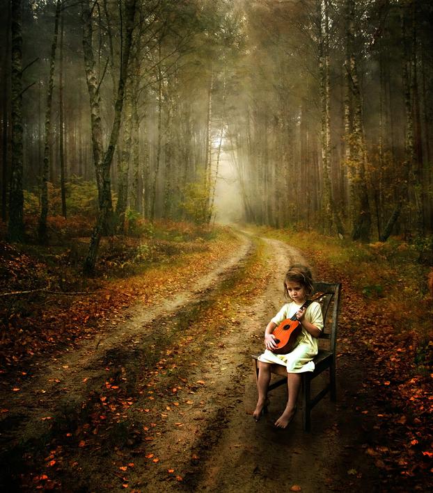 Autumn Strummer by kayceeus