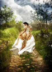 Garden Walk by kayceeus