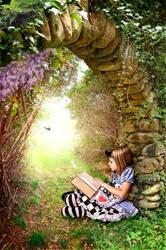 Little Reader by kayceeus