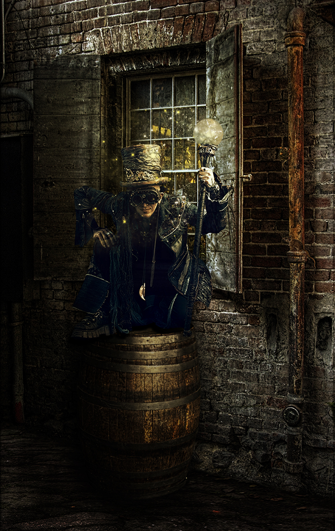 Steampunk Alley by kayceeus