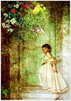 Girl at Door by kayceeus
