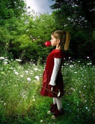 Red Balloon by kayceeus
