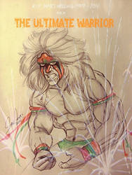 Ultimate Warrior (Tribute R.I.P.) by MellowMikey