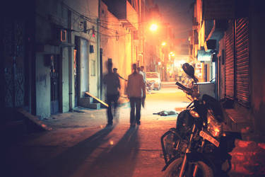 Nighttime Strollin by nisha24