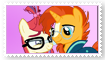 Moondancer x Sunburst Stamp by Zee-Stitch