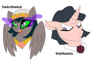 Commission: Sonambula Headshots by Zee-Stitch