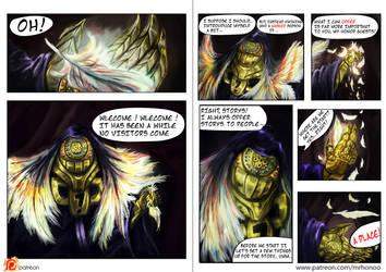 LoL fan comics ACT 1. page 1-2 by MrHONOO