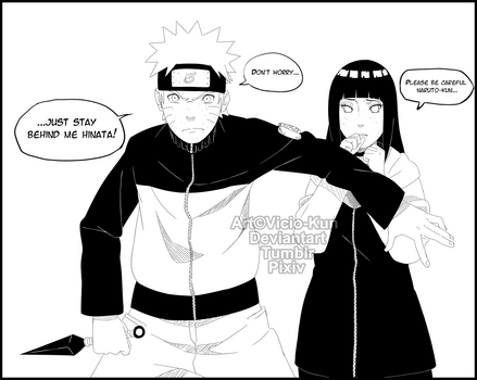 NaruHina month day 2 - Mission together