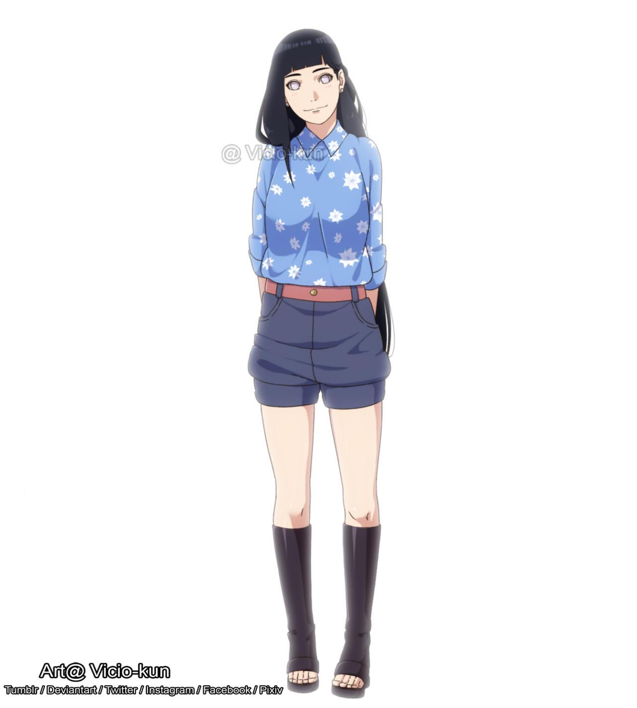 Hinata casual outfit by vicio-kun