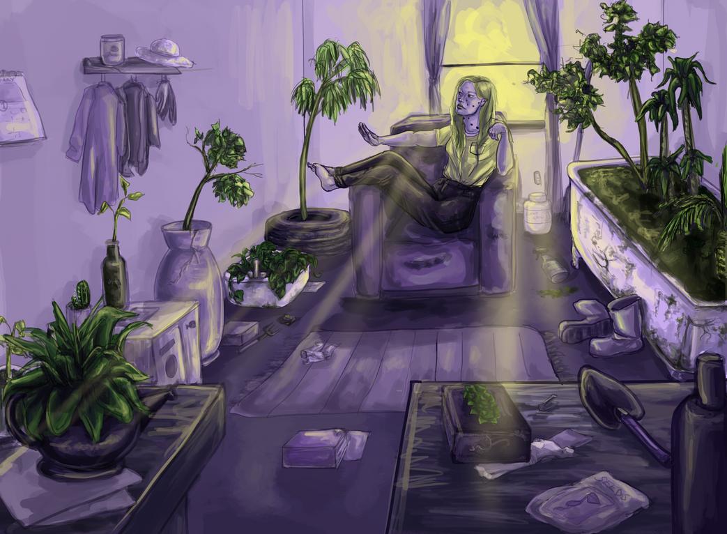 find a goddamn plant pot by lirrah9