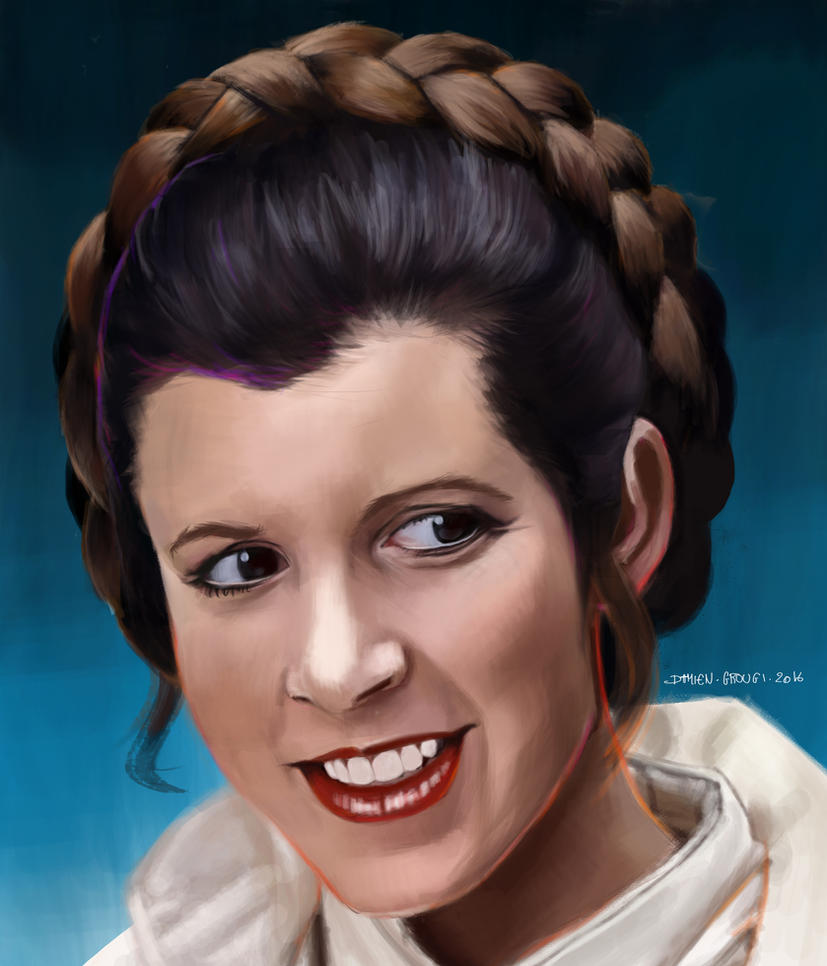 Princesse Leia ( Star Wars ) by IhsanDam