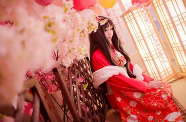 tohsaka rin by himeogi