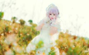 shiro lolita by himeogi