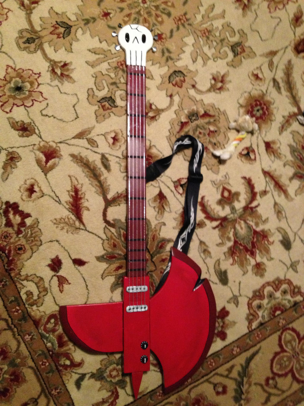 Marshall Lee axe guitar by Tannorsmanga on DeviantArt