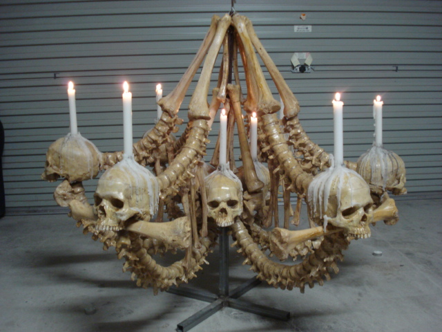 Bone chandelier by leighmarsh on deviantart bone chandelier by leighmarsh aloadofball