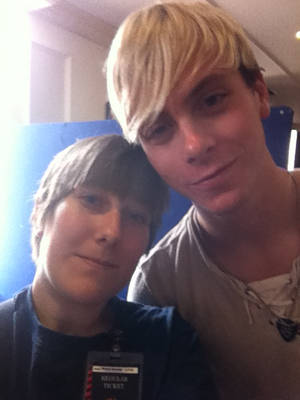 Selfie with Riker Lynch by TR-jessie
