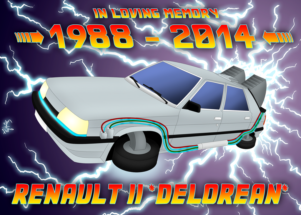 Renault 11 Delorean by prrrk03