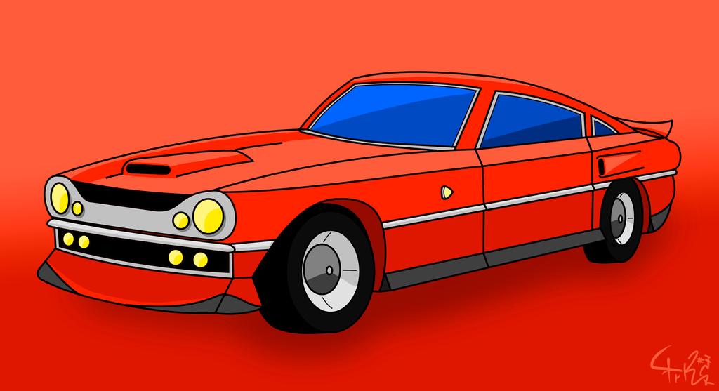 Muscle Car by prrrk03