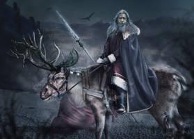 Santa White Walker