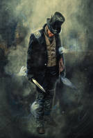 Jack the Ripper by isildurion